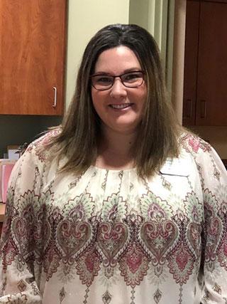 Kelsie Waller, Clinic Receptionist