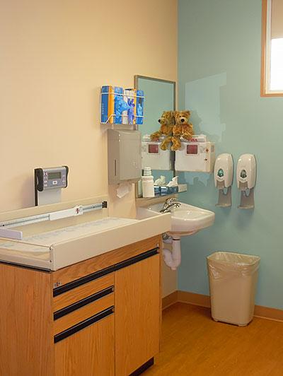 Pediatric Exam Room